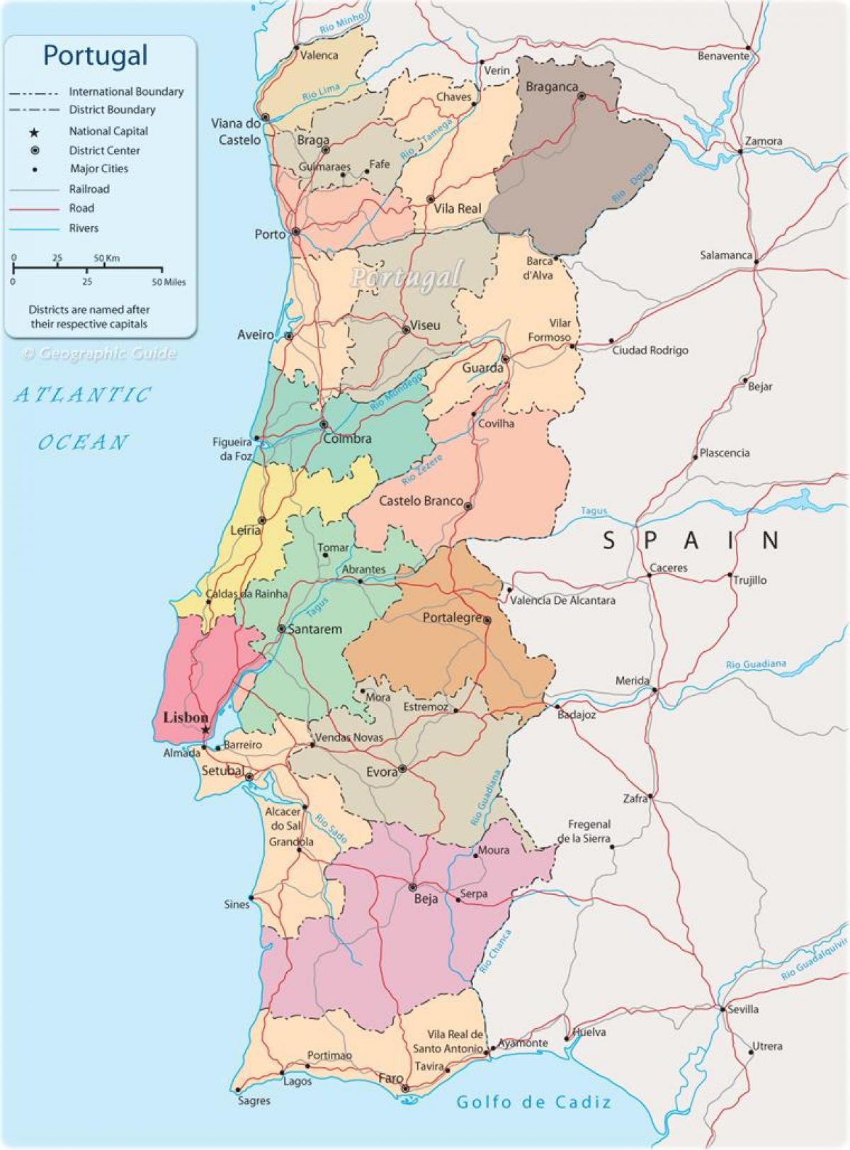 Cartina Politica Portogallo Con Regioni.Portogallo Cartina Giochi Con La Carta Fisica Pianure Voli Economici Per Il Portogallo Kar Ca