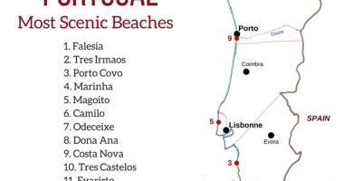 Cartina Di Portogallo.Portogallo Mappa Mappe Portogallo Europa Del Sud Europa