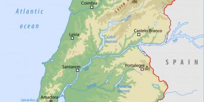 Cartina Del Portogallo Da Stampare.Portogallo Mappa Mappe Portogallo Europa Del Sud Europa